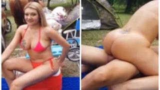 Enormes nalgas y tetas de paraguaya vídeo porno casero