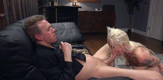 Pervertida esposa infiel follada anal por amante bdsm